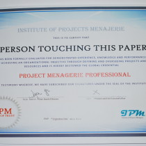 a photoshop image based on PMP certification